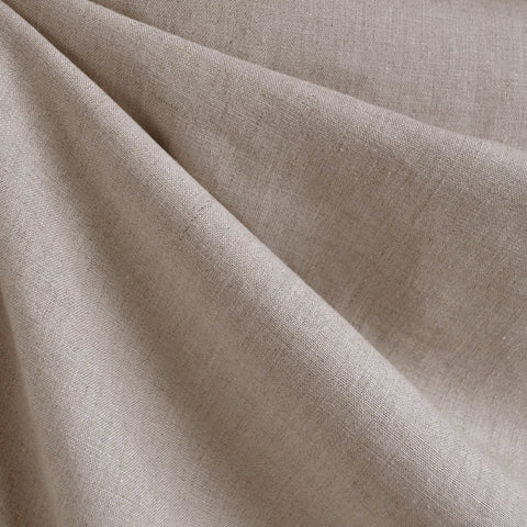 Textured Linen Solid Flax