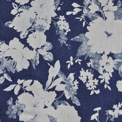 Floral Stretch Denim Print Blue - Sold Out - Style Maker Fabrics