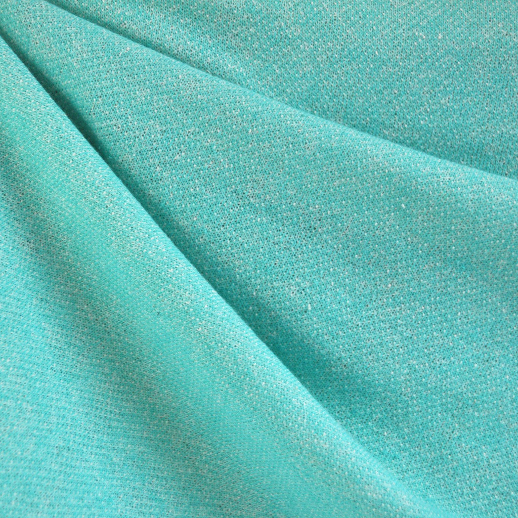 French Terry Solid Sea Green - Sold Out - Style Maker Fabrics