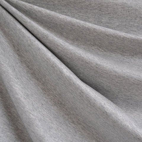French Terry Solid Heather Grey