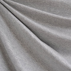Jersey French Terry Solid Heather Grey SY - Sold Out - Style Maker Fabrics