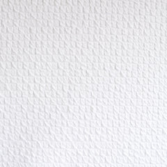 Quilted Texture Double Knit White SY - Sold Out - Style Maker Fabrics