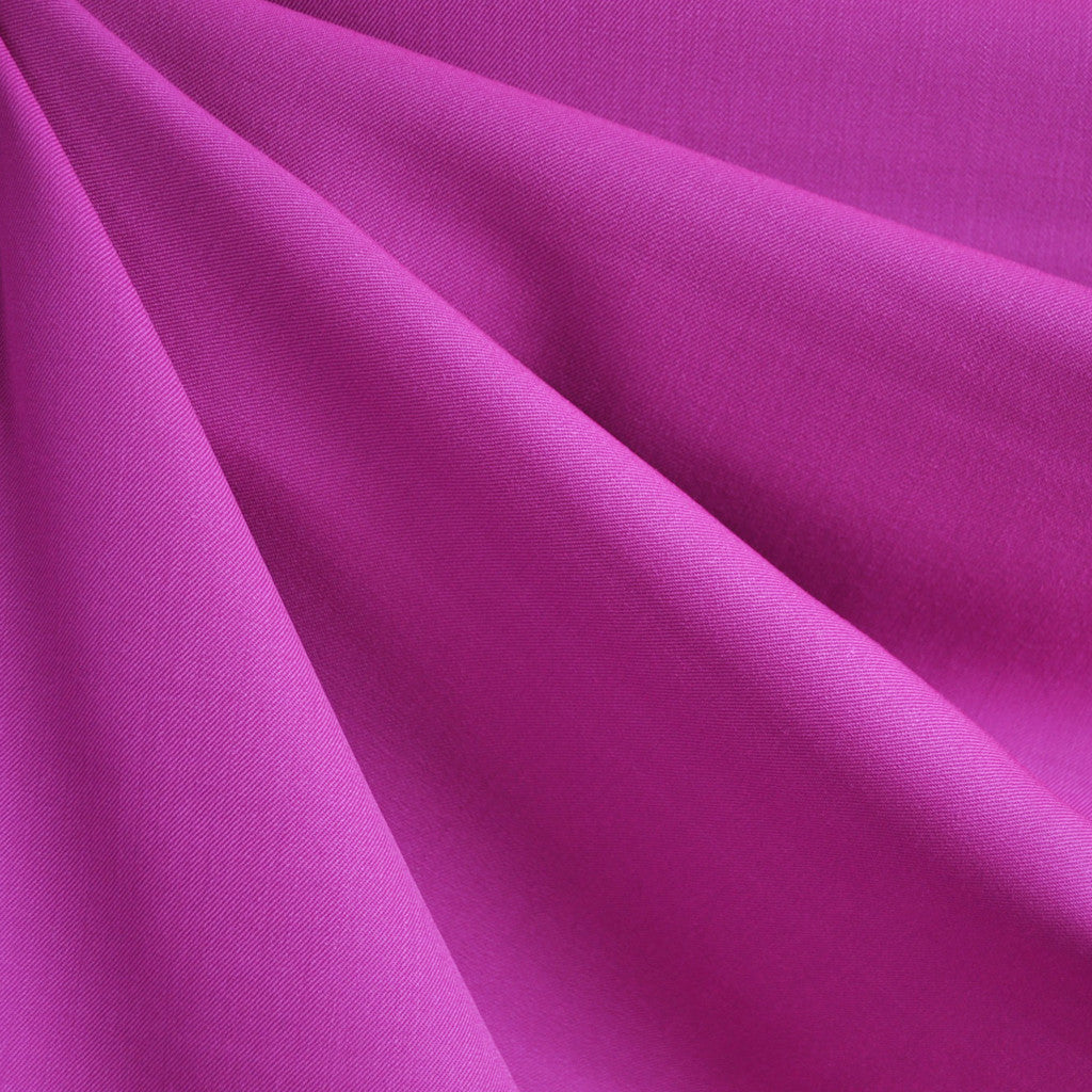 Rayon Blend Twill Solid Fuchsia - Sold Out - Style Maker Fabrics