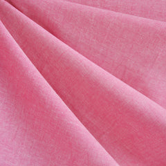 Oxford Shirting Solid Pink - Fabric - Style Maker Fabrics