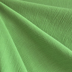 Bubble Gauze Solid Leaf - Sold Out - Style Maker Fabrics