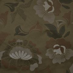 Camouflage Floral Cotton Twill Olive/Grey - Sold Out - Style Maker Fabrics