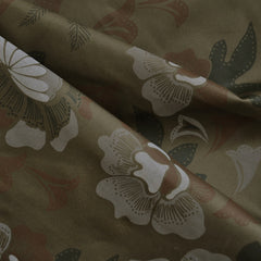 Camouflage Floral Cotton Twill Olive - Sold Out - Style Maker Fabrics
