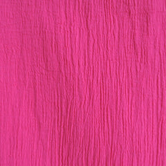 Bubble Gauze Solid Fuchsia - Fabric - Style Maker Fabrics