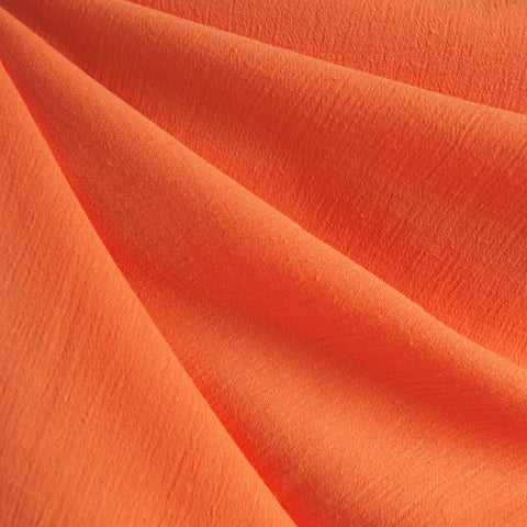 Bubble Gauze Solid Orange
