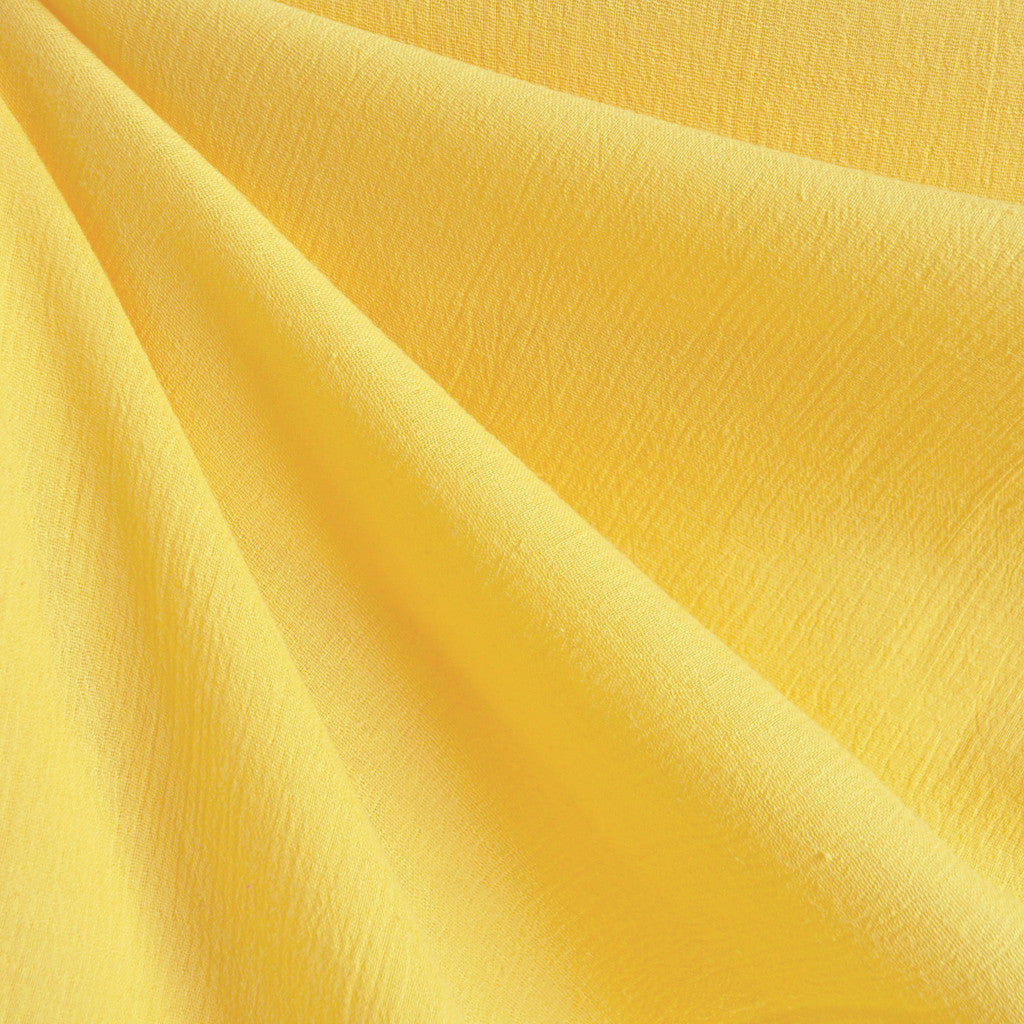 Bubble Gauze Yellow Solid - Sold Out - Style Maker Fabrics