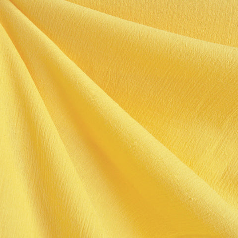 Bubble Gauze Yellow Solid