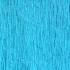 Bubble Gauze Solid Aqua - Sold Out - Style Maker Fabrics
