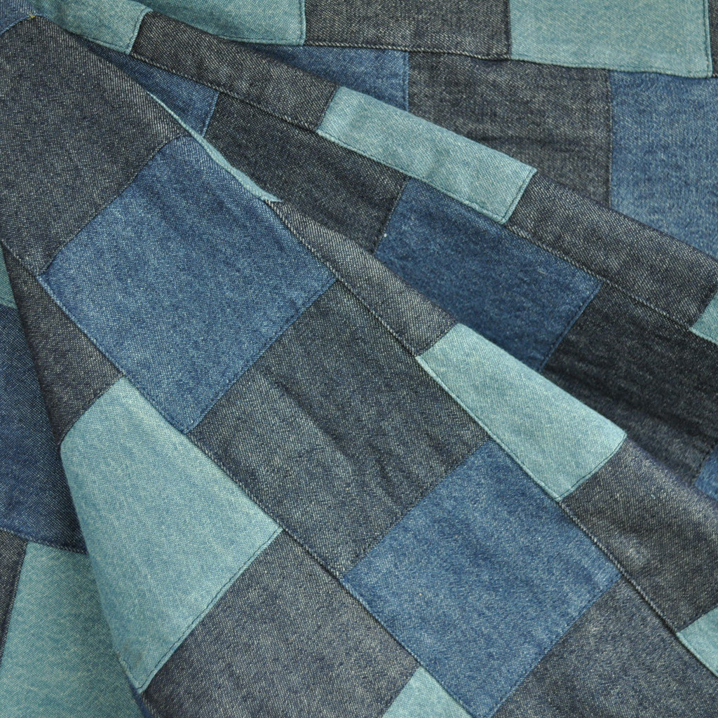 Designer Patchwork Denim Multi - Fabric - Style Maker Fabrics