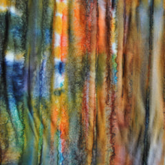 Hand Dyed Rayon Challis Sunset - Sold Out - Style Maker Fabrics