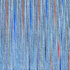 Reversible Stripe Shirting Blue/White/Red - Fabric - Style Maker Fabrics