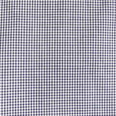 Mini Gingham Check Shirting Navy/White - Sold Out - Style Maker Fabrics