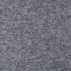 Textured Chambray Linen Blend Navy/White - Sold Out - Style Maker Fabrics