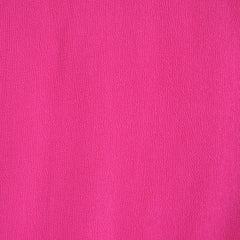 Rayon Crepe Solid Hot Pink - Sold Out - Style Maker Fabrics