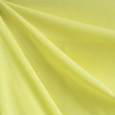 Rayon Crepe Solid Yellow