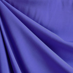 Rayon Challis Solid Periwinkle - Fabric - Style Maker Fabrics