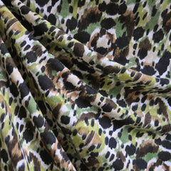 Brushstroke Camouflage Print Jersey Knit Green SY - Sold Out - Style Maker Fabrics
