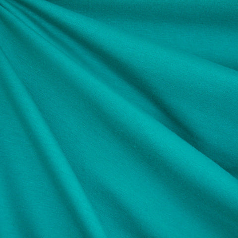 French Terry Solid Teal