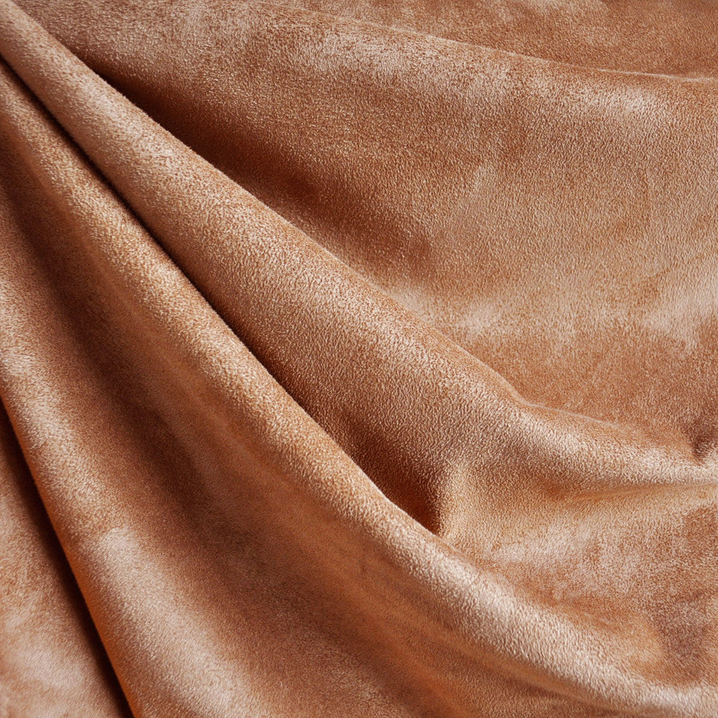 Waterfall Suede Shirting Chestnut - Fabric - Style Maker Fabrics