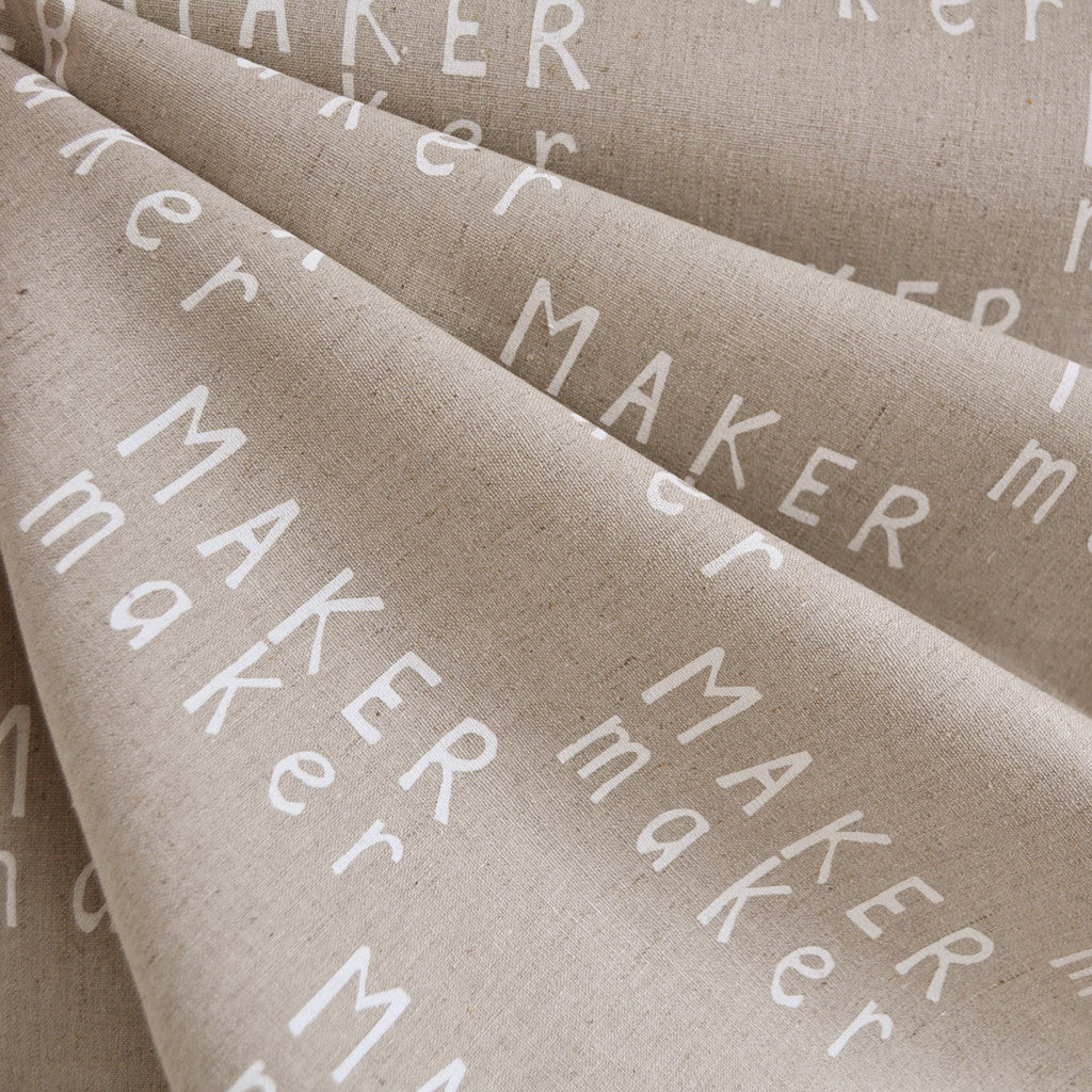 Maker Maker Linen Blend Canvas Natural SY - Sold Out - Style Maker Fabrics