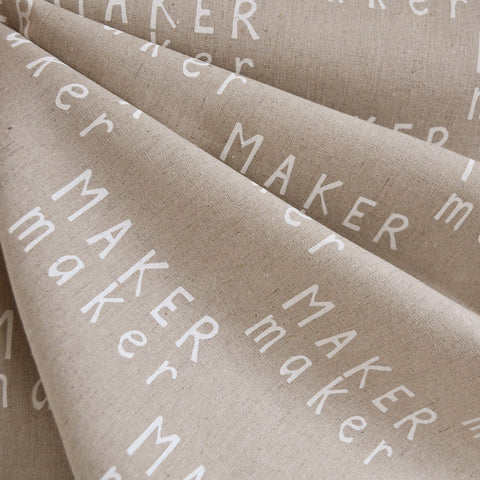 Maker Maker Linen Blend Canvas Natural