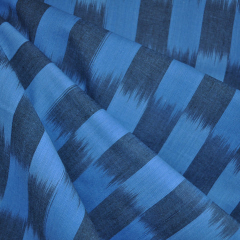 Dream Weaves Blocks Shirting Blue