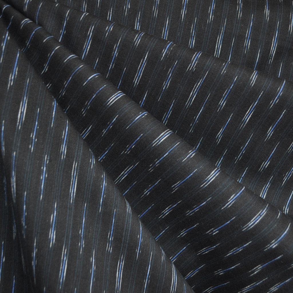 Dream Weaves Thin Stitches Shirting Black - Sold Out - Style Maker Fabrics
