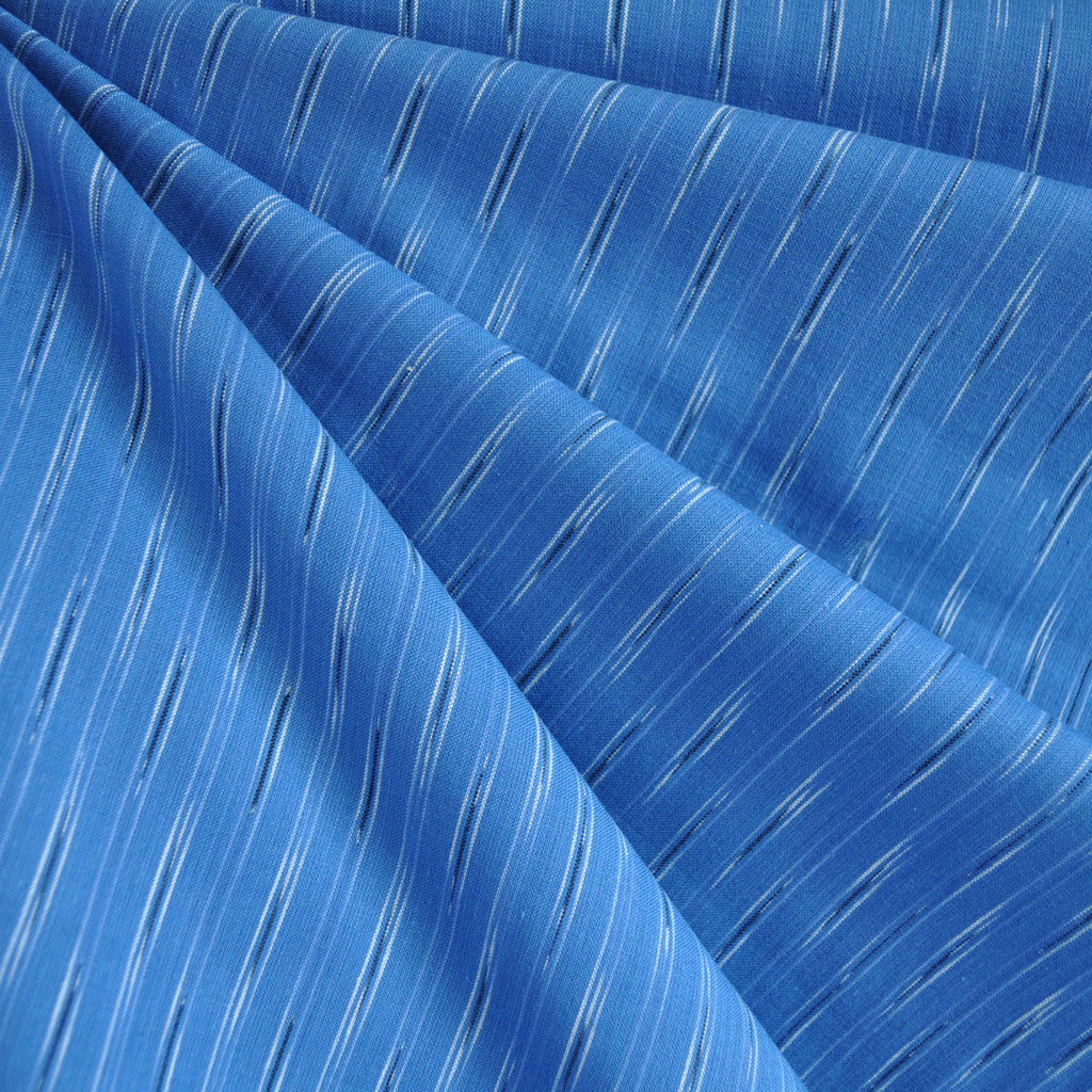 Dream Weaves Thin Stitches Shirting Blue - Sold Out - Style Maker Fabrics