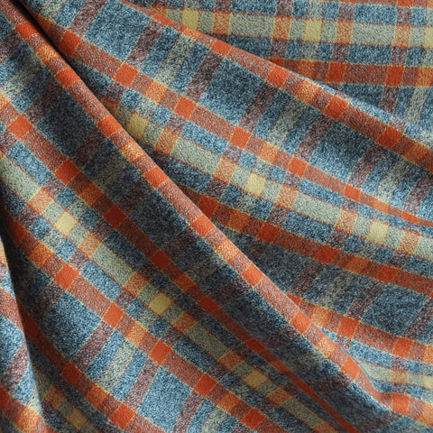 Mammoth Flannel Classic Plaid Pumpkin/Grey
