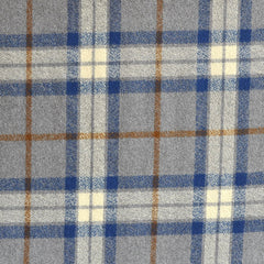 Mammoth Flannel Classic Plaid Grey/Blue - Sold Out - Style Maker Fabrics