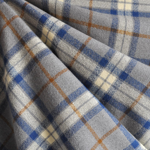 Mammoth Flannel Classic Plaid Grey/Blue SY