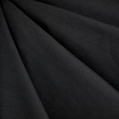 Cotton Jersey Knit Solid Black - Sold Out - Style Maker Fabrics