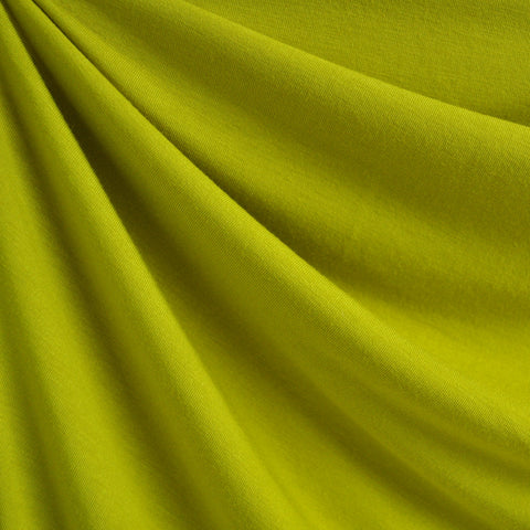 Modal Jersey Knit Solid Chartreuse