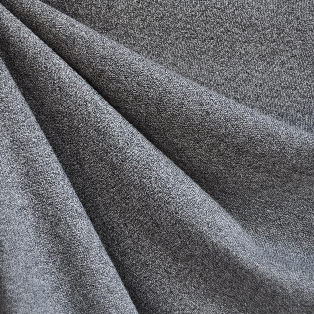 French Terry Solid Stone Grey - Sold Out - Style Maker Fabrics