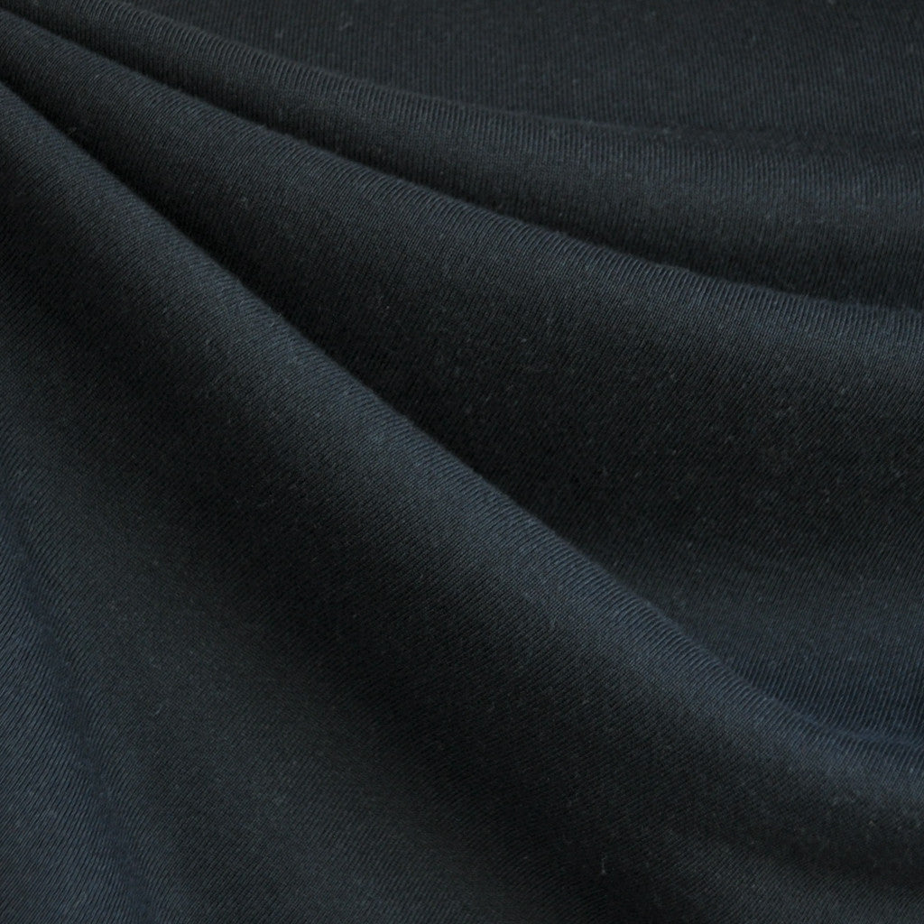 French Terry Solid Black - Sold Out - Style Maker Fabrics