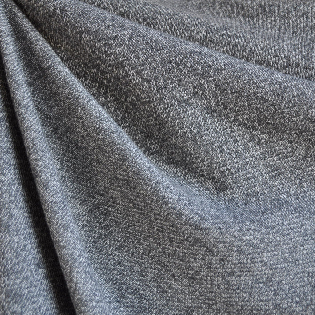 French Terry Sweater Knit Greys - Fabric - Style Maker Fabrics