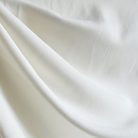 Twill Weave Rayon Solid Cream