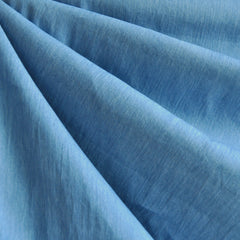 Chambray Shirting Solid Blue - Fabric - Style Maker Fabrics