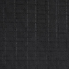 Plaid Textured Rayon Solid Black - Sold Out - Style Maker Fabrics