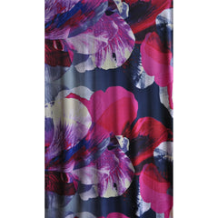 Dramatic Floral ITY Knit Purple - Sold Out - Style Maker Fabrics