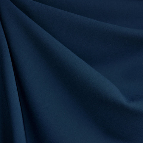 Stretch Double Twill Solid Navy