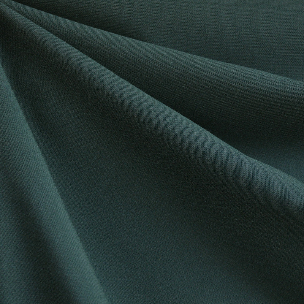 Stretch Double Twill Solid Deep Emerald - Fabric - Style Maker Fabrics