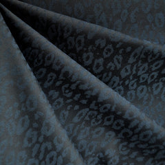 Stretch Double Twill Animal Print Jacquard Jade - Fabric - Style Maker Fabrics