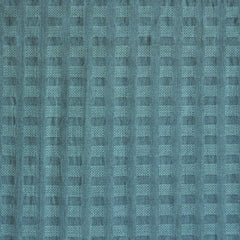 Woven Shirting Plaid Texture Soft Teal - Fabric - Style Maker Fabrics