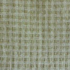 Woven Shirting Plaid Texture Soft Olive - Fabric - Style Maker Fabrics