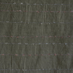 Woven Shirting Slub Plaid Forest - Sold Out - Style Maker Fabrics